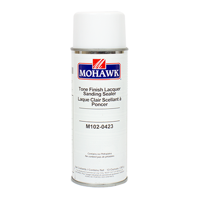 Mohawk Tone Finish Clear Lacquer Sanding Sealer M102 0423
