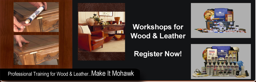Wood & Leather Touch Up & Repair Products by Mohawk Finishing